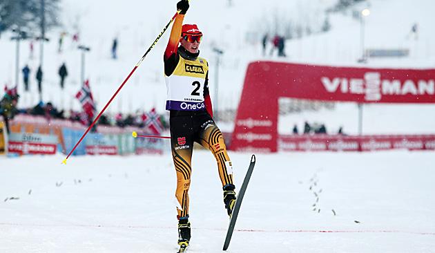 Weltmeister Frenzel siegt in Lillehammer (Bild: AP)