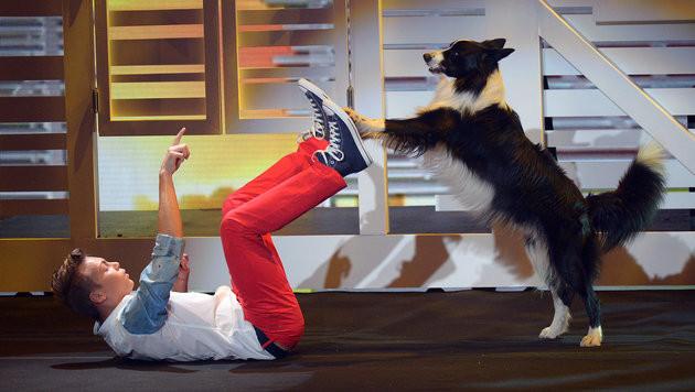 """Wiener Schüler im Finale von """"Supertalent"""" (Bild: APA/dpa/Henning Kaiser)"""