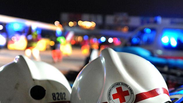 Kinder von Baumstamm überrollt und schwer verletzt (Bild: APA/BARBARA GINDL (Symbolbild))