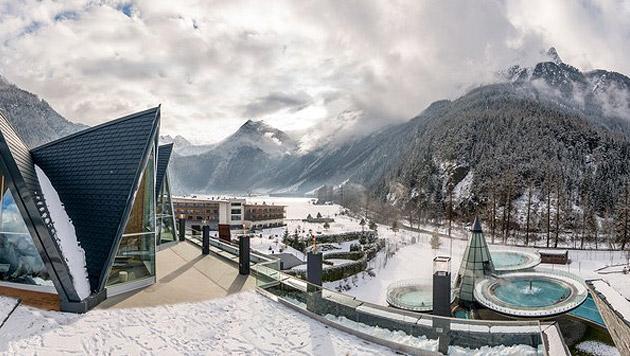 Luxuriöse Wellness-Resorts aus aller Welt (Bild: AQUA DOME)