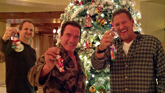 """Weihnachten beim """"Terminator"""" in Los Angeles (Bild: Dieter Rauter)"""