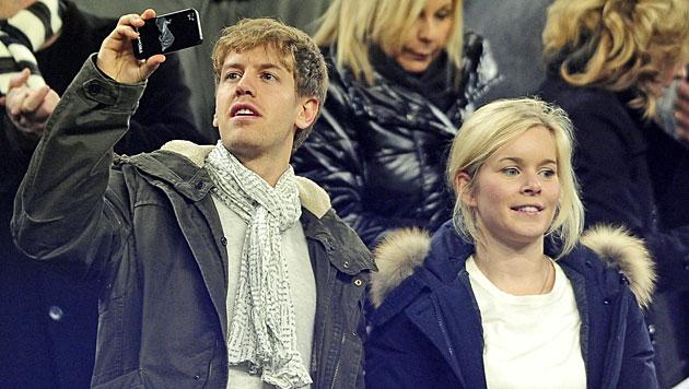 Formel-1-Star Sebastian Vettel ist Papa geworden (Bild: AP)