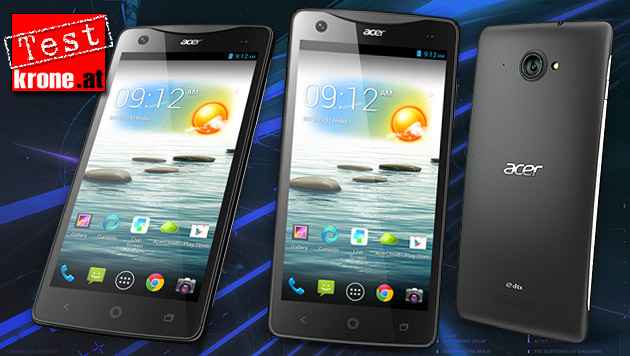 Kampfpreis-Phablet: Das Acer Liquid S1 im Test (Bild: Acer, thinkstockphotos.de, krone.at-Grafik)