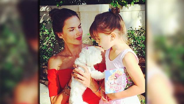 Ambrosio: Beauty-OP für Tochter Anja (5)? (Bild: Instagram, krone.at-Grafik)