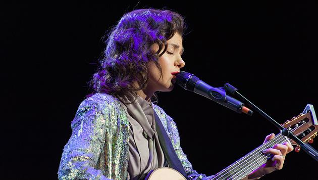 Katie Melua sorgte für besinnliche Zurückhaltung (Bild: Andreas Graf)