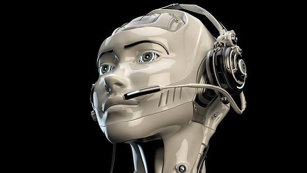Robo-Anruferin kaum vom Menschen zu unterscheiden (Bild: thinkstockphotos.de)
