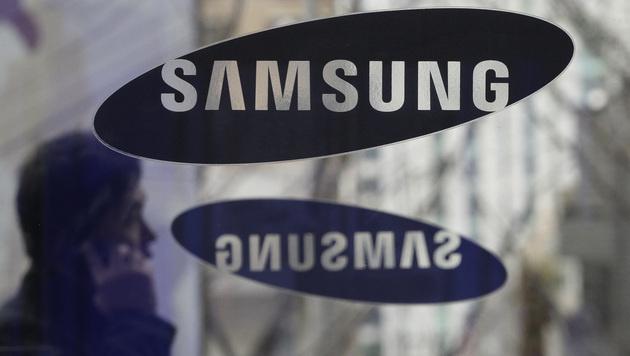 Samsung: Weniger Gewinn als zunächst erhofft (Bild: AP)