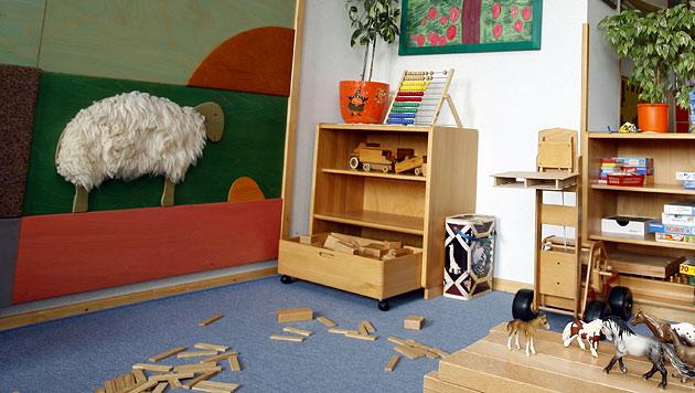 Schimmel in Kindergarten - Gruppe muss übersiedeln (Bild: APA/HARALD SCHNEIDER (Symbolbild))