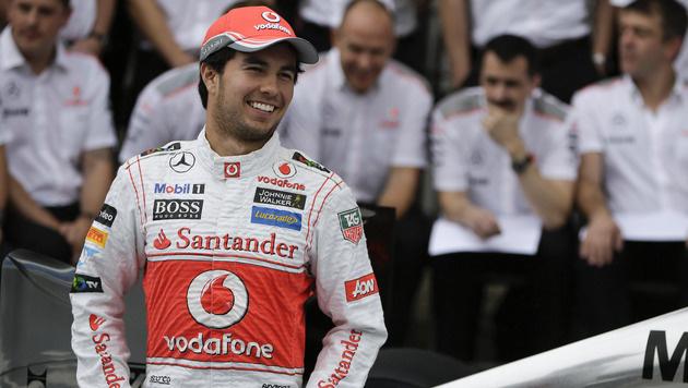 Sergio Perez fährt künftig für Force India (Bild: AP)