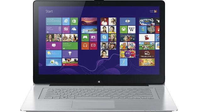 """Sonys neuer """"Vaio Fit multi-flip PC"""" im Klapp-Test (Bild: Sony)"""