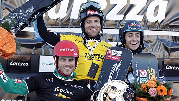 Unterkofler feiert 1. Sieg im Boarder-Parallel-RTL (Bild: AP)