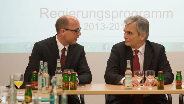 Vorarlberger SPÖ lehnt Koalitionspakt ab (Bild: APA/DIETMAR STIPLOVSEK)