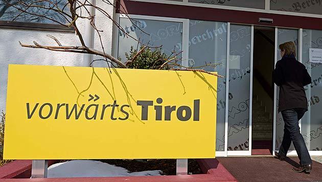 """Zerstrittenes """"vorwärts Tirol"""" startet neu durch (Bild: APA/Robert Parigger)"""
