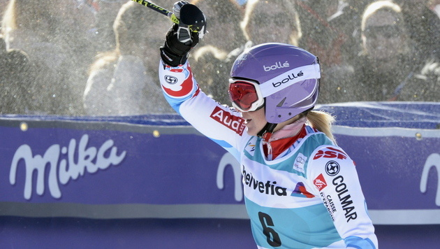 Worley gewinnt in St. Moritz, Platz 4 für Zettel (Bild: EPA)
