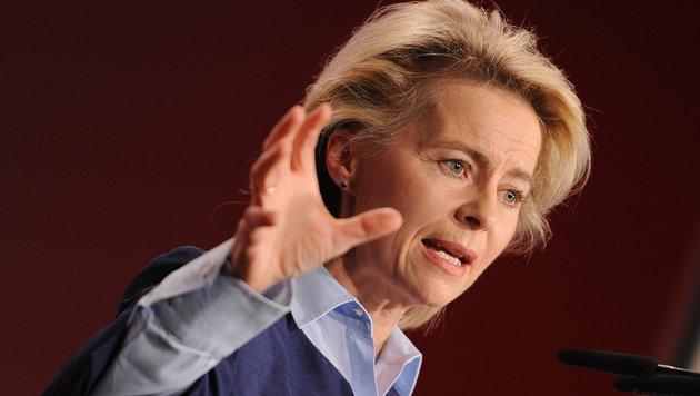 Deutschlands Verteidigungsministerin Ursula von der Leyen (Bild: dpa-Zentralbild/Britta Pedersen)