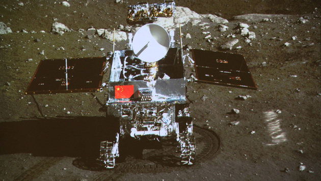 "Chinas Mond-Rover ""Yutu"" in ewigen Schlaf gefallen (Bild: Associated Press)"