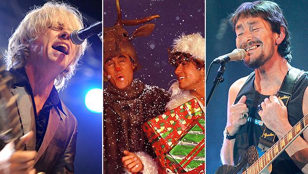 Die Storys hinter den beliebtesten Weihnachtssongs (Bild: EPA, AP, Sony Music)