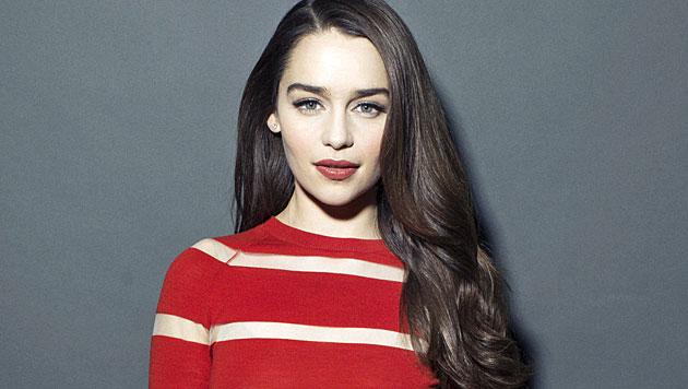 Emilia Clarke hat den heißesten Kussmund (Bild: AP)