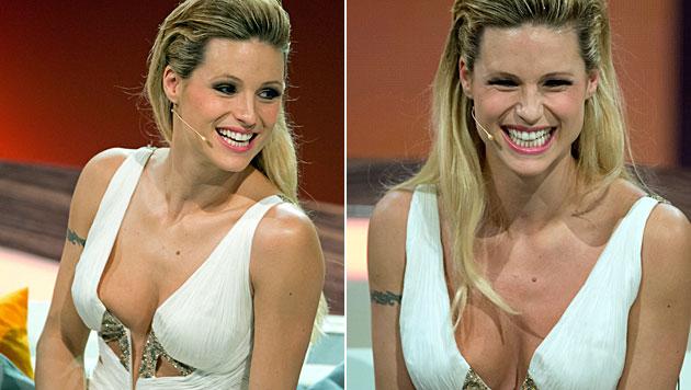"""Die gebürtige Schweizerin war früher Co-Moderatorin der ZDF-Show """"Wetten, dass..?"""". (Bild: EPA)"""