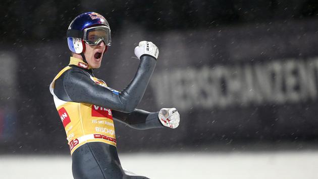 Rekordpreisgeld bei der Vierschanzentournee (Bild: APA/GEORG HOCHMUTH)