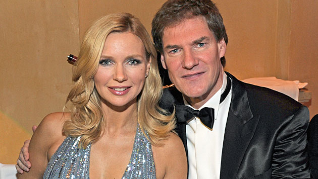 Veronica Ferres & Carsten Maschmeyer heiraten 2014 (Bild: dpa/Ursula Düren)