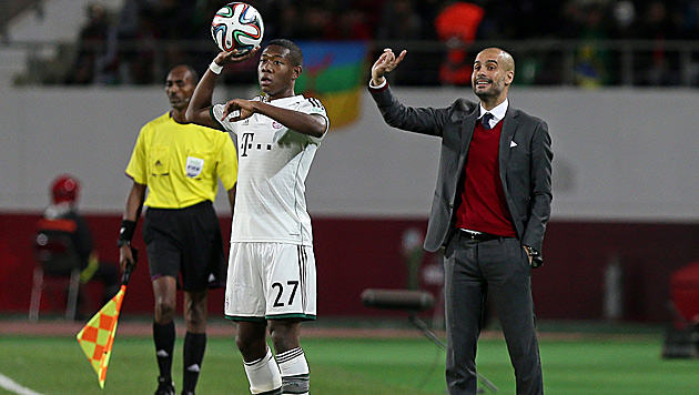 Zurück zu Pep? Manchester City will David Alaba (Bild: APA/EPA/MOHAMED MESSARA)