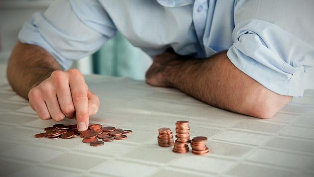 Jeder Cent zählt... (Bild: thinkstockphotos.de)