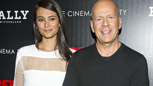 Bruce Willis soll zum fünften Mal Papa werden (Bild: AP)