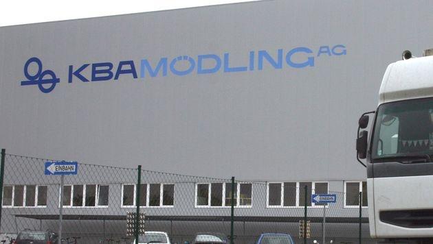 Maschinenhersteller KBA streicht 460 Stellen (Bild: APA/HERBERT OCZERET)