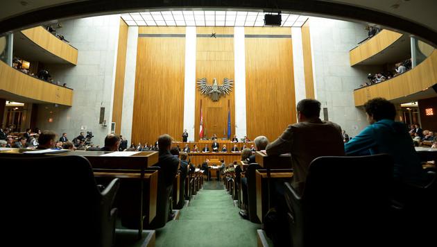So soll die Arbeit im Parlament geheimer werden (Bild: APA/Roland Schlager)