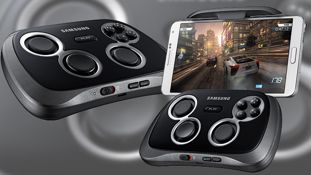 Samsung bringt Controller für Smartphone-Spiele (Bild: Samsung, krone.at-Grafik)