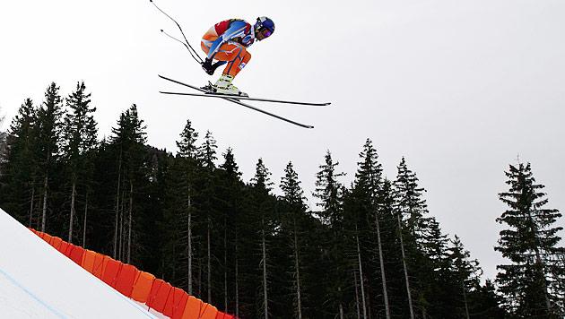 Svindal überflügelt in Gröden die Konkurrenz (Bild: AFP)