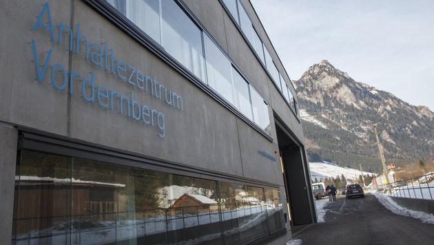 Das moderne Schubhaftzentrum in der steirischen Ortschaft Vordernberg. (Bild: APA/ERWIN SCHERIAU)