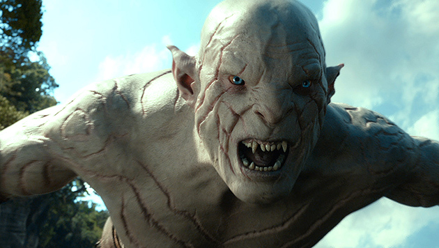 """Dieser """"Hobbit""""-Ork ist ohne Maske ganz schön sexy (Bild: AP)"""