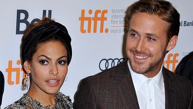 Eva Mendes und Ryan Gosling machen Liebes-Pause (Bild: EPA)