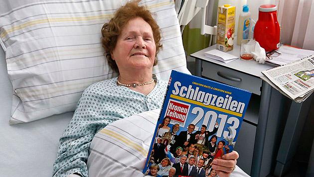Fataler Treppensturz in Sbg: Seniorin gerettet (Bild: Markus Tschepp)