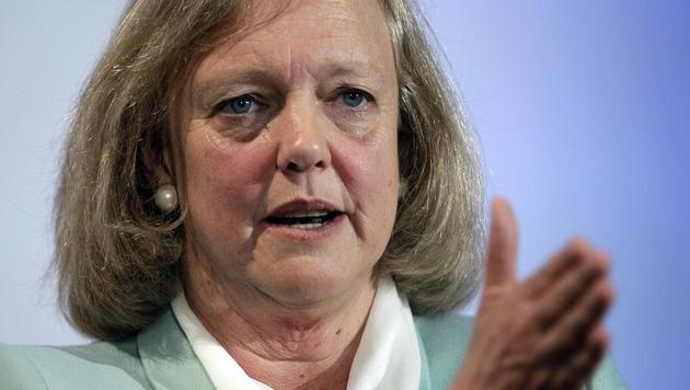 HP-Chefin bekommt statt einem Dollar 1,5 Millionen (Bild: AP)