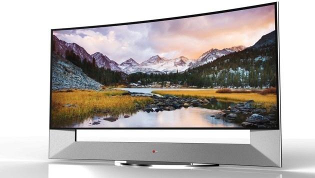 LG kündigt größten gekrümmten Ultra-HD-TV an (Bild: LG)