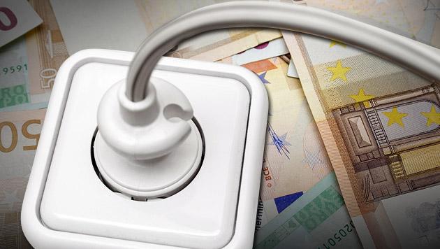 Strom und Gas sind ab 1. Oktober billiger (Bild: thinkstockphotos.de, krone.at-Grafik)