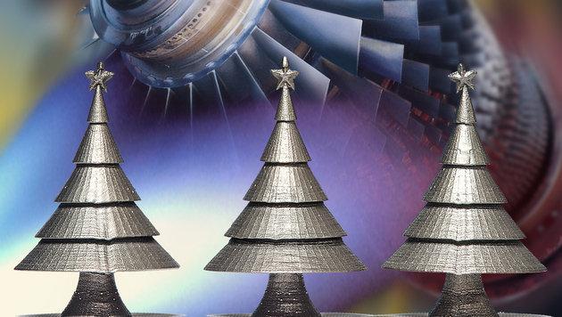 3D-Druck in Industrie: Vom Christbaum zur Turbine (Bild: Siemens)