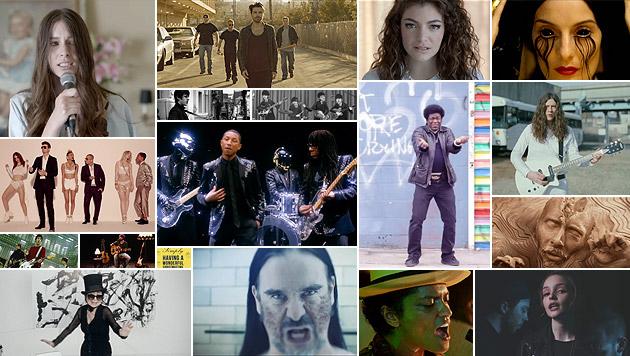 """Das """"Krone""""-Team kürt die besten Alben 2013 (Bild: YouTube.com)"""