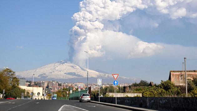 """Italien führt """"Vulkansteuer"""" für Touristen ein (Bild: EPA)"""