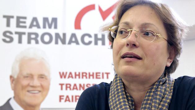Kärnten: Team-Stronach-Chefin wirft das Handtuch (Bild: APA/GERT EGGENBERGER)