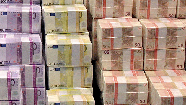 Ministerien müssen 500 Millionen Euro einsparen (Bild: dpa/Bundesbank (Symbolbild))