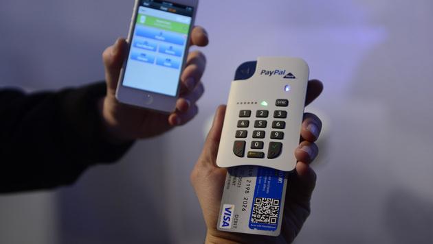 Mobiles Bezahlen soll Einkaufserlebnis umkrempeln (Bild: AP)