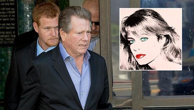 "Ryan O""Neal erklagt Warhol-Bild von Farrah Fawcett (Bild: AP)"