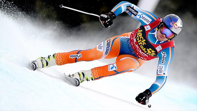 Svindal gewinnt vor Hudec, Österreicher geschlagen (Bild: EPA)
