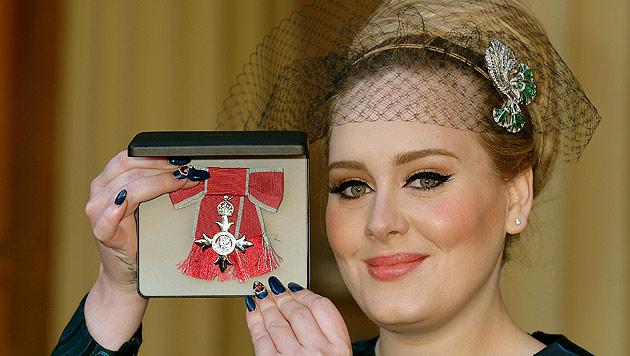 Soulsängerin Adele erhielt Verdienstorden (Bild: AP)