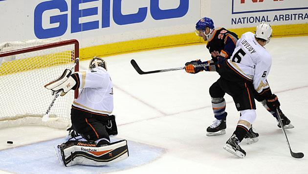 NHL: Islanders verlieren trotz zweier Vanek-Tore (Bild: AP)