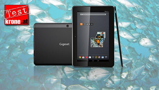 Gigaset QV1030: Das Underdog-Tablet im Test (Bild: Gigaset, krone.at-Grafik)